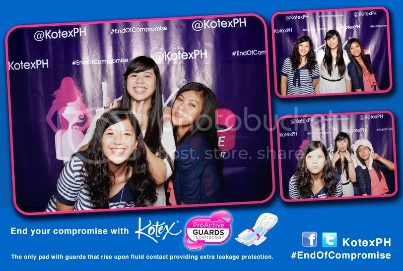 Kotex Photo Booth Picture