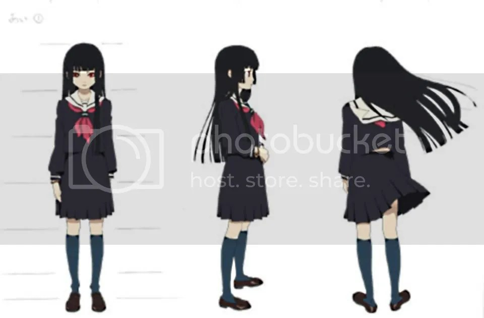 Enma Ai from Jigoku Shoujo (Girl from Hell)