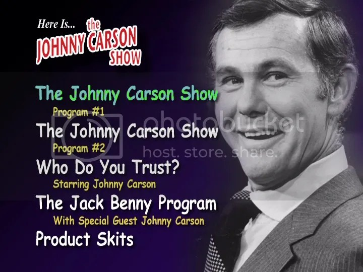 johnny carson photo: Johnny Carson DVD Disc1Menu.png