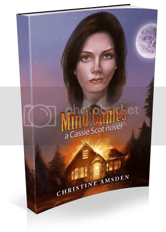 Mind Games: a Cassie Scot Novel by @ChristineAmsden [Favorite Author]