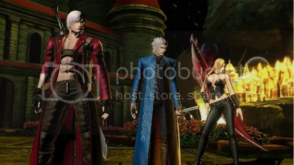 Ultimate Marvel vs. Capcom 3 Vergil