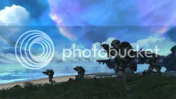 Halo: Combat Evolved Anniversary marines