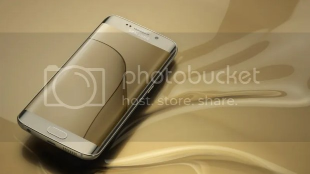 Galaxy S6 Edge dourado