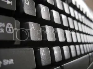 Keyboard - PowerPoint Background