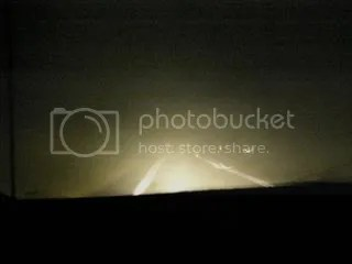 This makes it look liked we had some visibility while driving home... we didnt and I was terrified we would be hit by lightening the storm was right aroun us.
