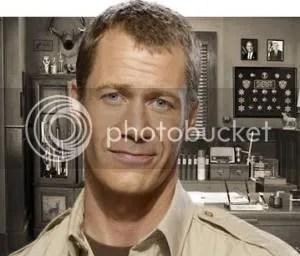 Colin Ferguson as Sheriff Jack Carter on Eureka
