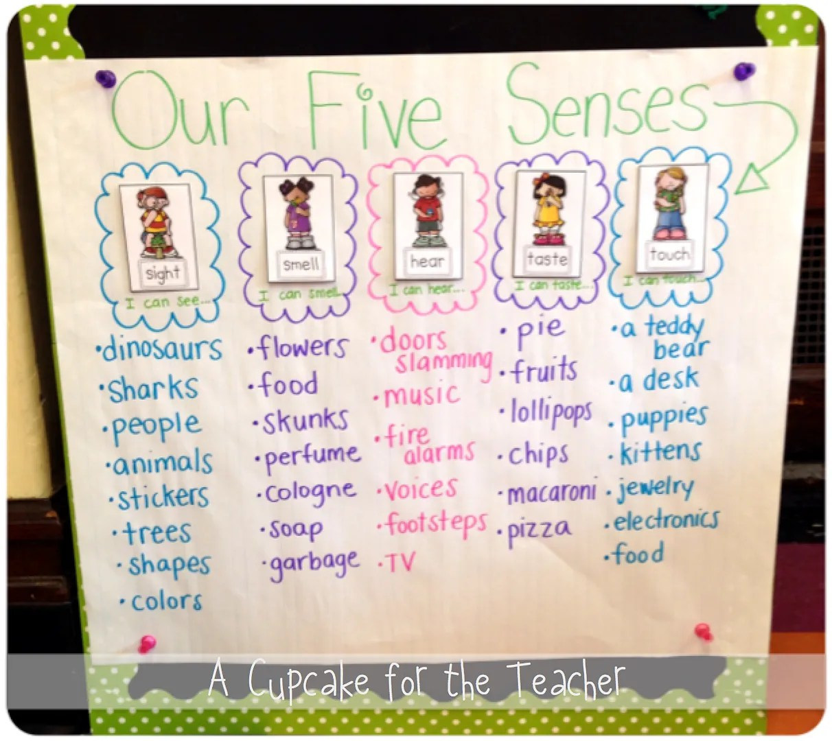 We Also Sang And Sang And Sang A Five Senses Song