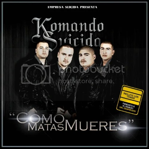 Komando Suicida - Como Matas Mueres (2012) (Album / Disco Oficial)
