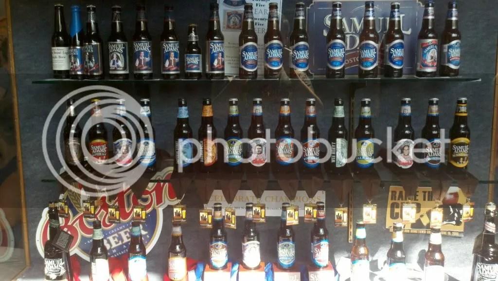 Sam Adams Bottle Collection