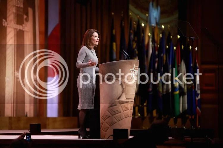 Outgoing Congresswoman from Minnesota, Michele Bachmann