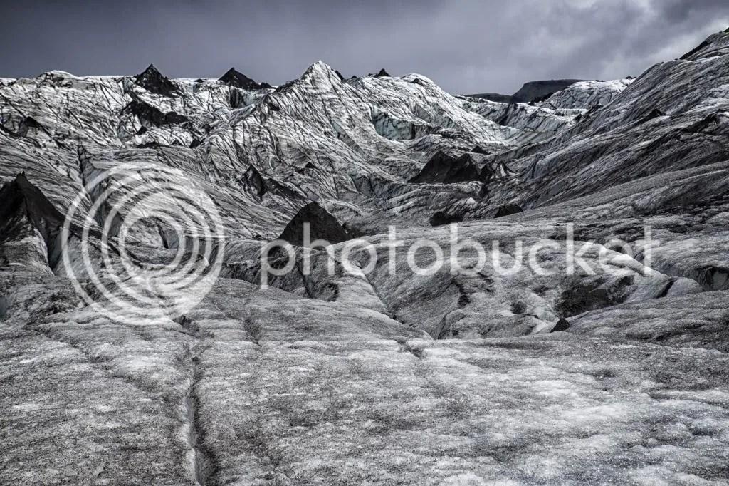Skaftafell's Glacier