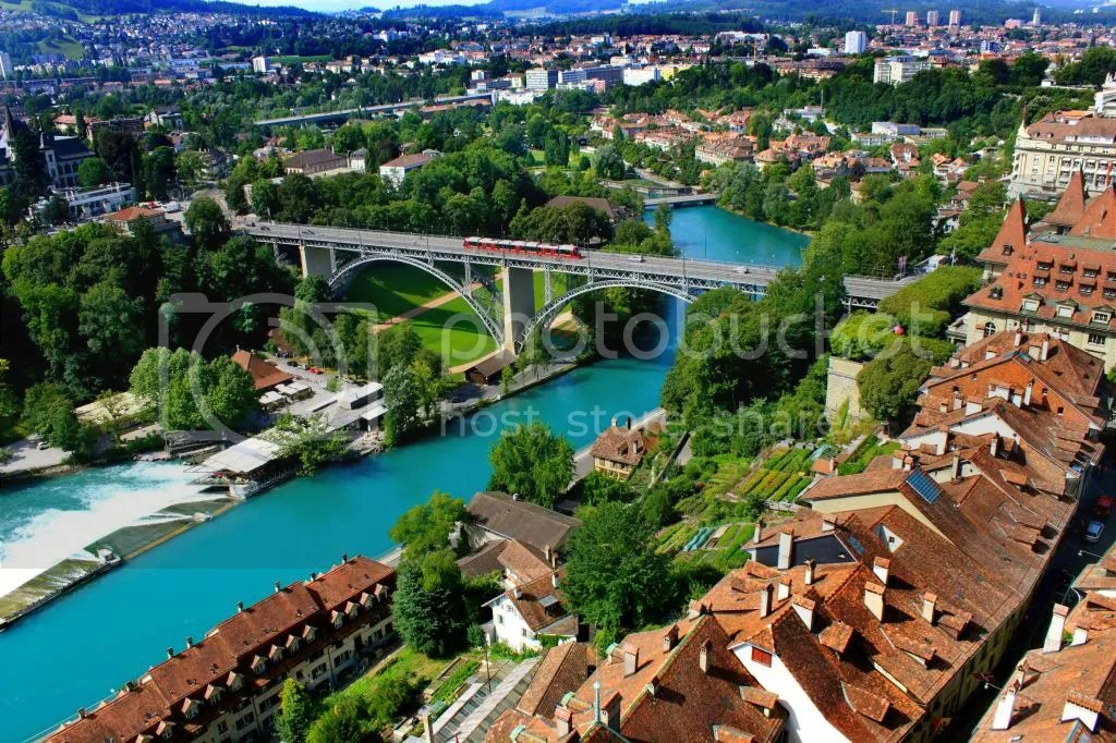 Bern at Bird's Eye