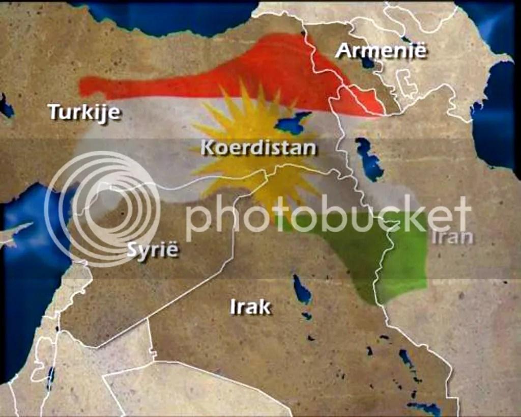Map of Kurdistan