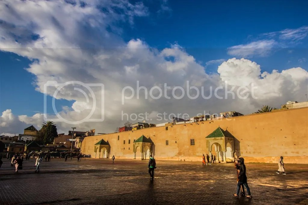 Meknes after rain