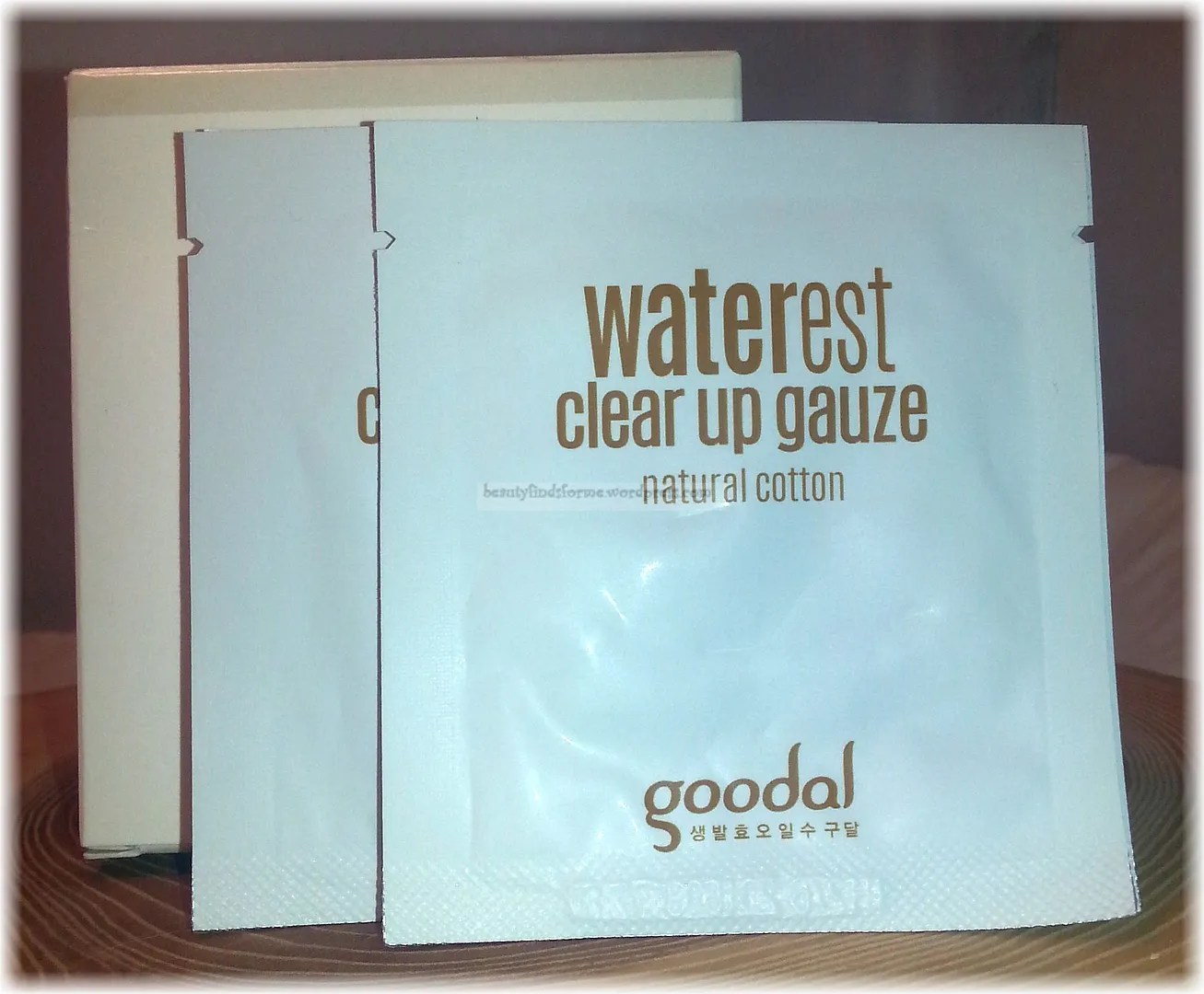 goodal waterest clear up gauze how to use