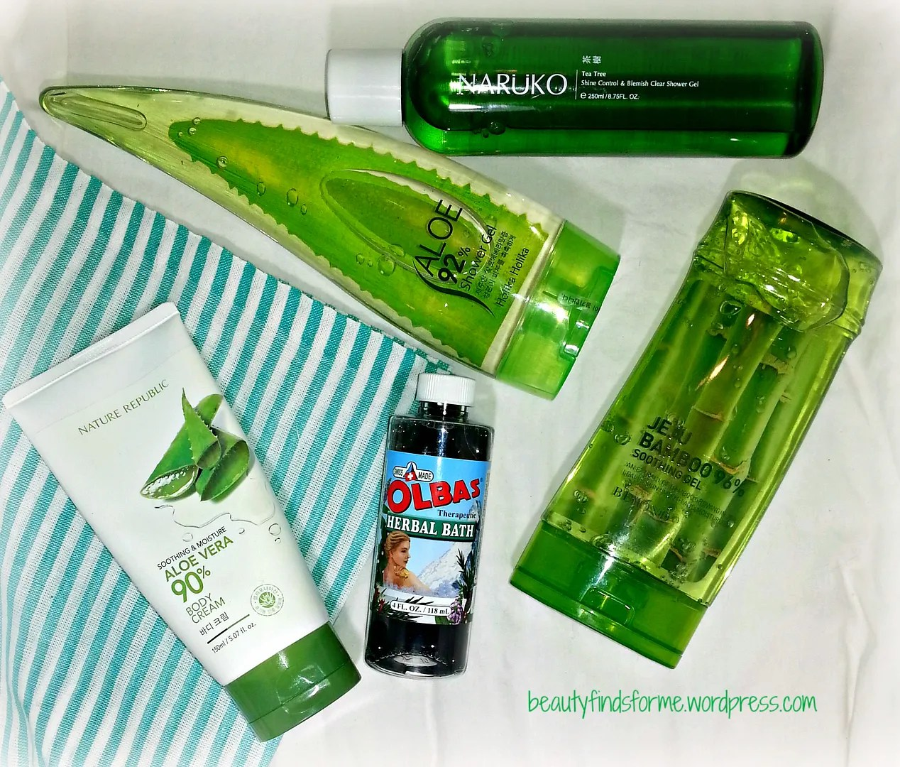 Ice Baby Mega Cool Down Products Part 1 Unboxing Beauty Nature Republic Herb Blending Emulsion Gels