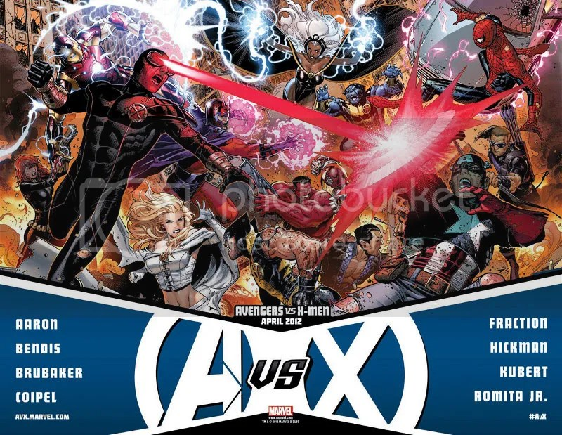Vingadores X Men_