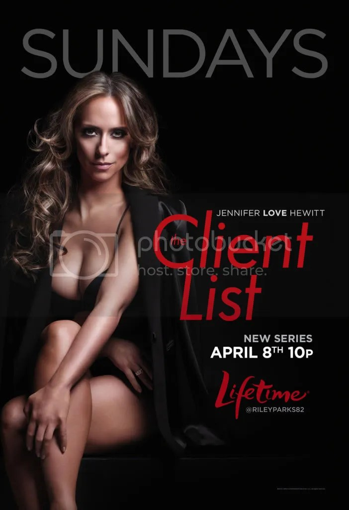 "The Client ListStatus: New SeriesGenre: Drama, FamilyRate: 5.3/10Original Airing: 8 April 2012 - presentRegion: USALanguage: EnglishSubtitle: EnglishSeason 1(Ongoing)Synopsis:Based on the network's hit 2010 original movie, ""The Client List"" will launch on Lifetime in 2012 with 10 episodes. In addition, the network has entered into a first look development deal for both series and movies with Hewitt's production company Fedora Films, it was announced today by Nancy Dubuc, President and General Manager of Lifetime Networks. Hewitt's deal also includes her directing a future movie for the network. ""The Client List"" is about a Texas housewife (Hewitt), who, after being deserted by her husband, is left in deep financial straits and takes a job at a seemingly traditional day spa in a neighboring town. When she realizes massages aren't the only services on the menu, she quickly grabs the opportunity to relieve her financial hardships by partnering with the parlor's feisty and disorganized owner to run the business. The series will follow her as she delicately balances two starkly different lives -- one as a single mom in a conservative town struggling to provide for her family and the other as a savvy and ambitious businesswoman working with a rowdy, sexy and unpredictable group of women."