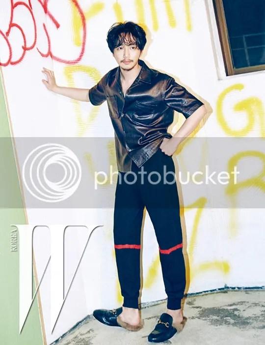 Byun Yo Han para W Corea. 2