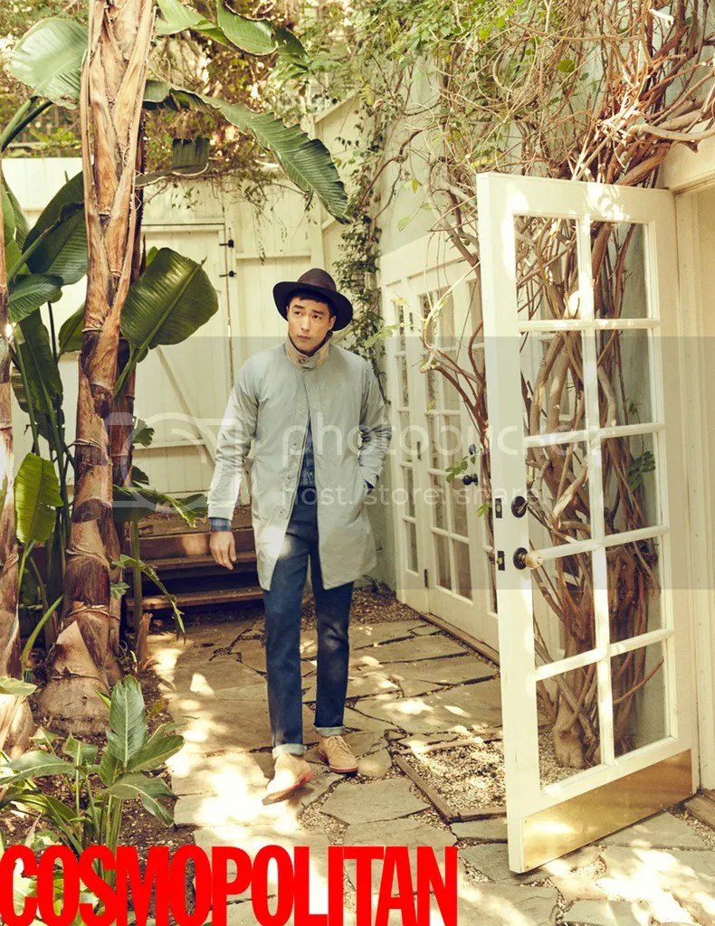 Daniel Henney para Cosmopolitan Corea, marzo de 2016. 10