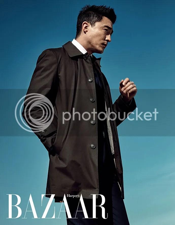 Daniel Henney para Harper's Bazaar, febrero de 2016. 3