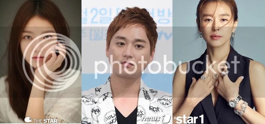 Go Seung Yeon, Heo Jung Min y Ye Ji Won 1