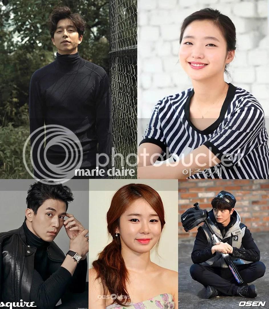 Gong Yoo, Kim Go Eun, Lee Dong Wook, Yoo In Na y Sungjae 1