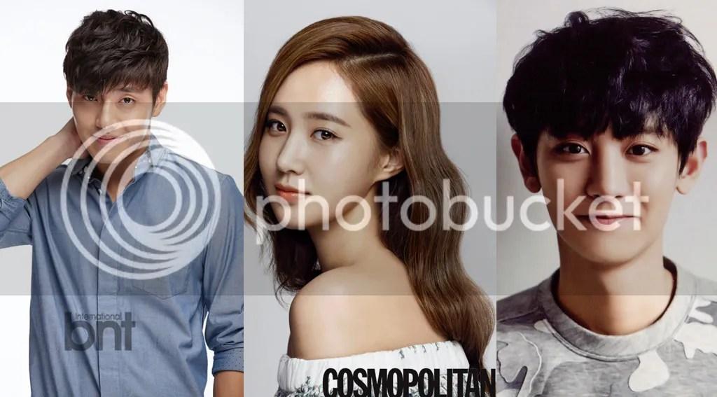 Haneul, Yuri y Chanyeol 1