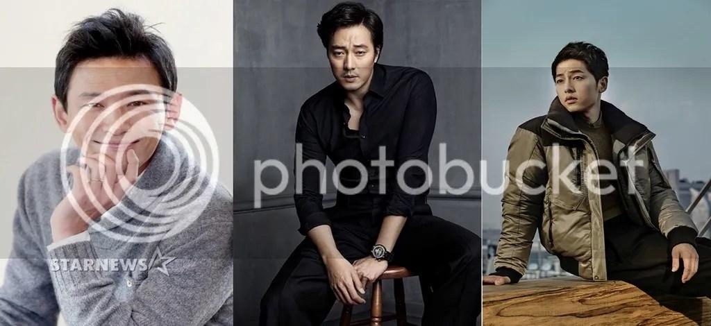 Hwang Jung Min, So Ji Sub y Song Joong Ki