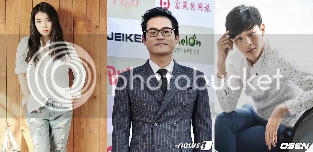 IU, Kim Sung Kyun y Ji Soo