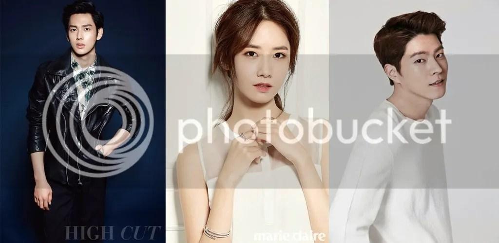 Im Siwan, Yoonah y Hong Jong Hyun 1