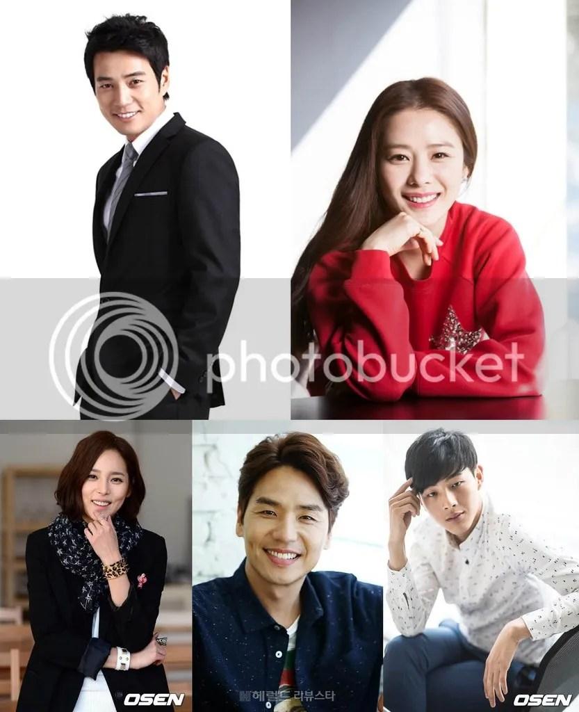 Joo Sang Woo, Kim Hyun Joo, Park Shi Yeon, Kim Tae Hoon y Ji Soo