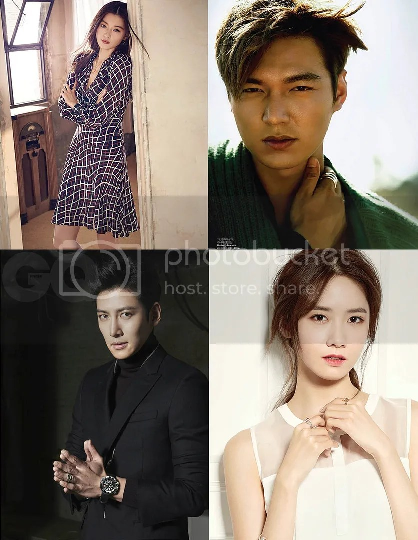 Jun Ji Hyun, Lee Min Ho, Ji Chang Wook y Yoona 1