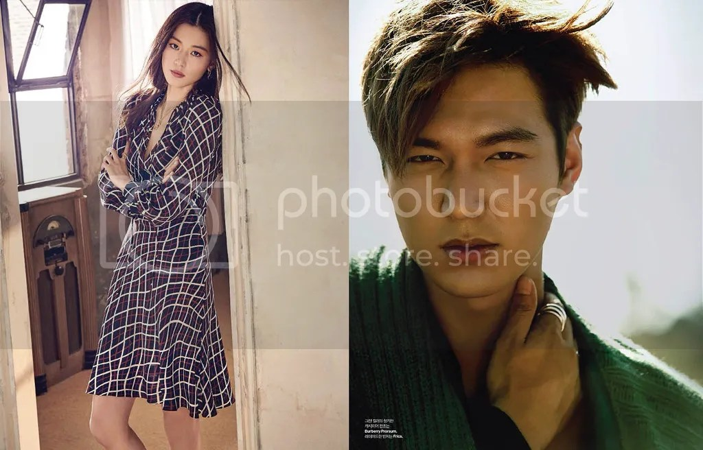 Jun Ji Hyun y Lee Min Ho