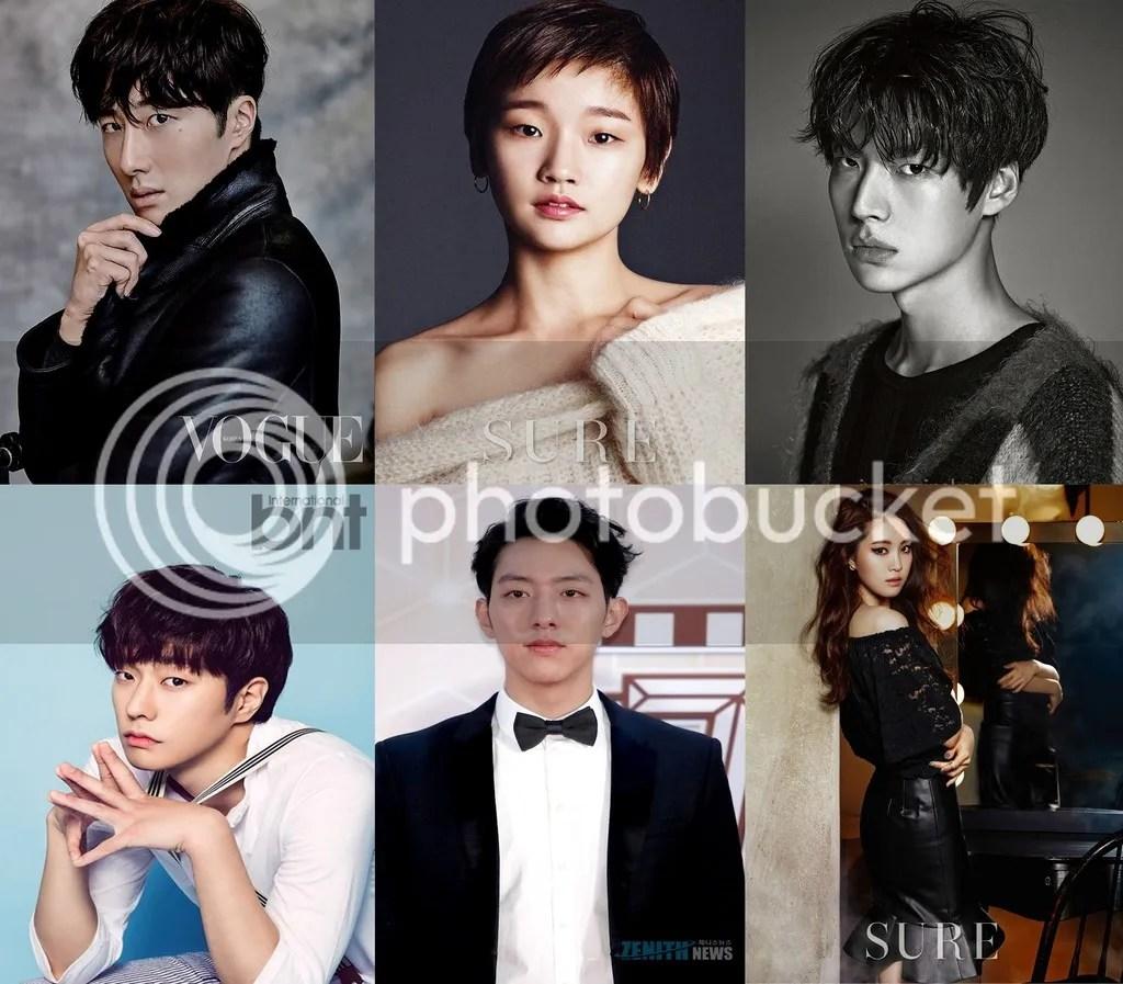 Jung Il Woo, Park So Dam, Ahn Jae Hyun, Choi Min, Lee Jungshin y Son Na Eun