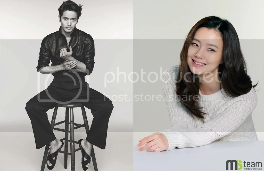 Lee Jin Wook y Moon Chae Won
