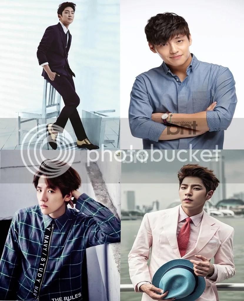 Lee Jun Ki, Kang Ha Neul, Baekhyun y Hong Jong Hyun