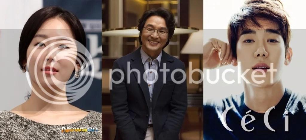 Seo Hyun Jin, Han Seok Kyu y Yoo Yeon Seok 1