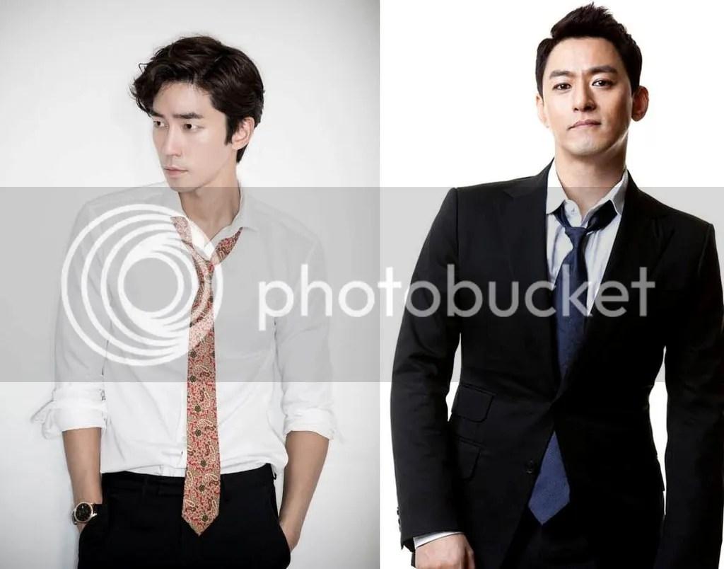 Shin Sung Rok y Joo Jin Moo