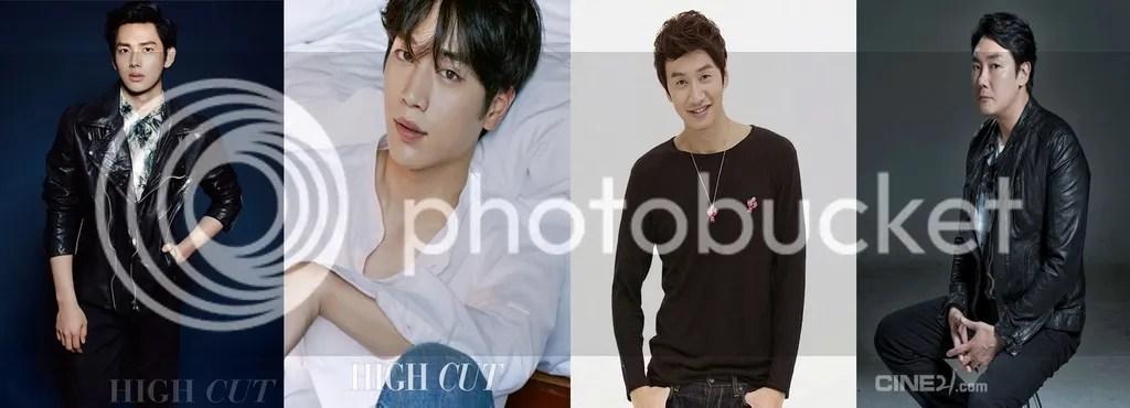 Siwan, Seo Kang Joon, Lee Kwang Soo y Jo Jin Woong
