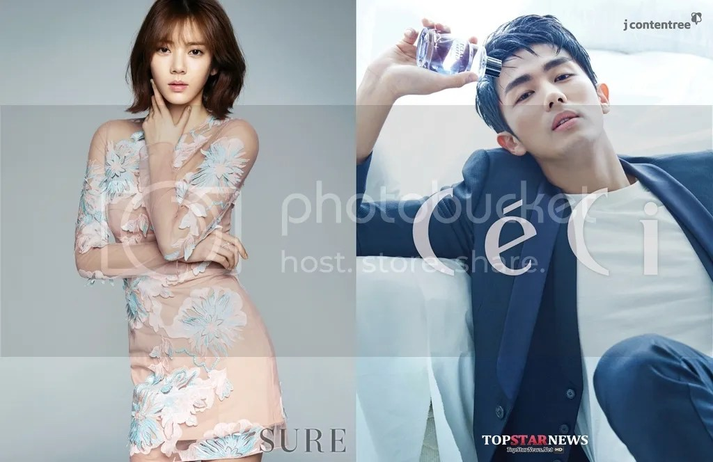 Son Dam Bi y Seulong 1
