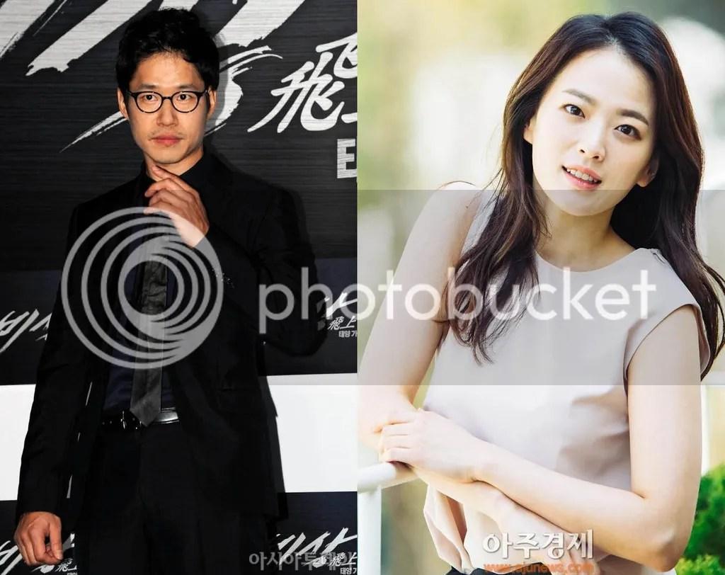 Yoo Joon Sang y Chun Woo Hee