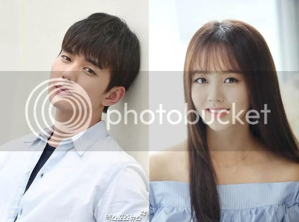 Yoo Seung Ho y Kim So Hyun 1