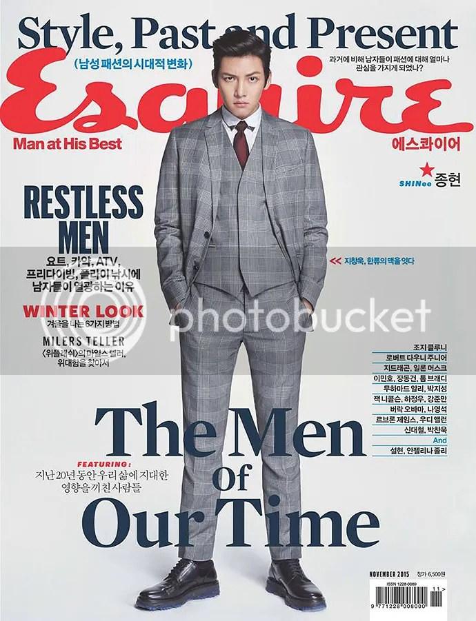 Ji Chang Wook para Esquiere, noviembre de 2015. 5