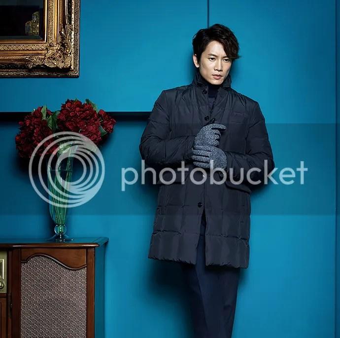 Ji Sung para Austin Reed, otoño-invierno 2015 (1) Bomba Soju