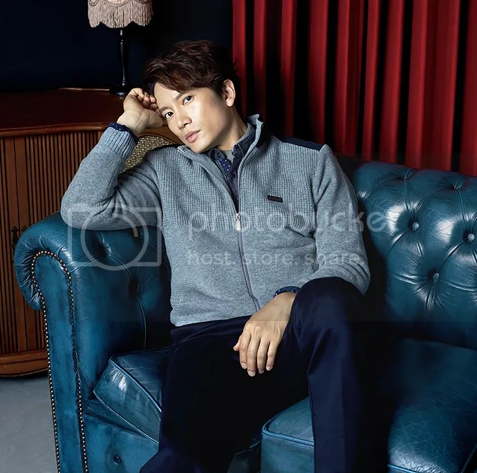 Ji Sung para Austin Reed, otoño-invierno 2015 (4) Bomba Soju