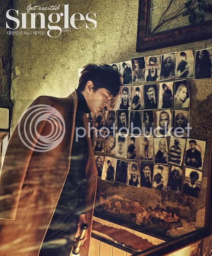 Joo Won para Singles Corea, noviembre de 2015. 3