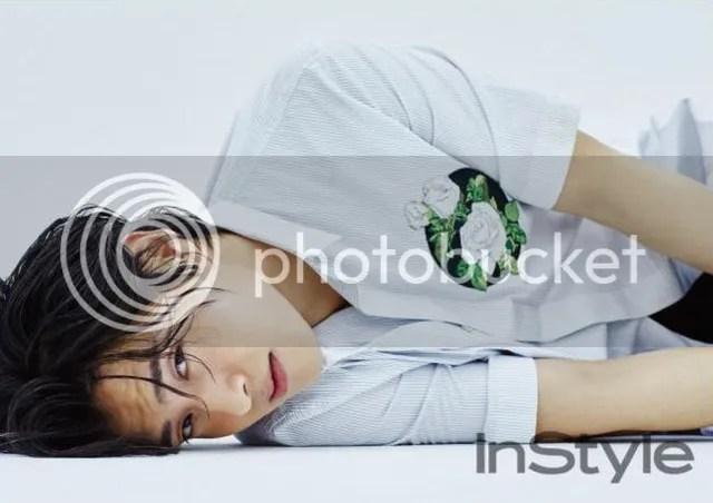 Kang Haneul para InStyle julio de 2016. 2