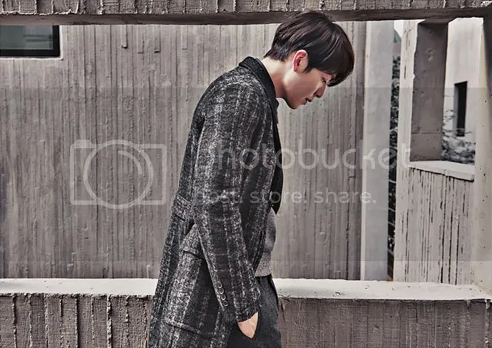 Kim Woo Bin 19, para SIEG, otoño/invierno 2015-2016