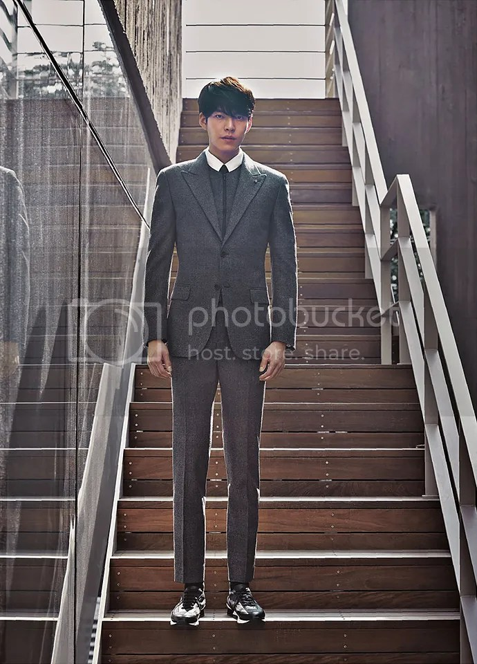 Kim Woo Bin 20 para SIEG, otoño/invierno 2015/2016